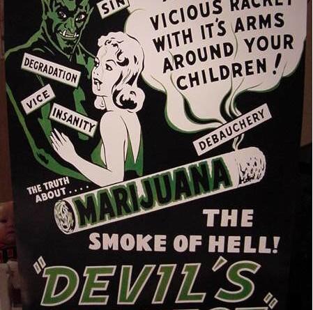Anti Marijuana Poster