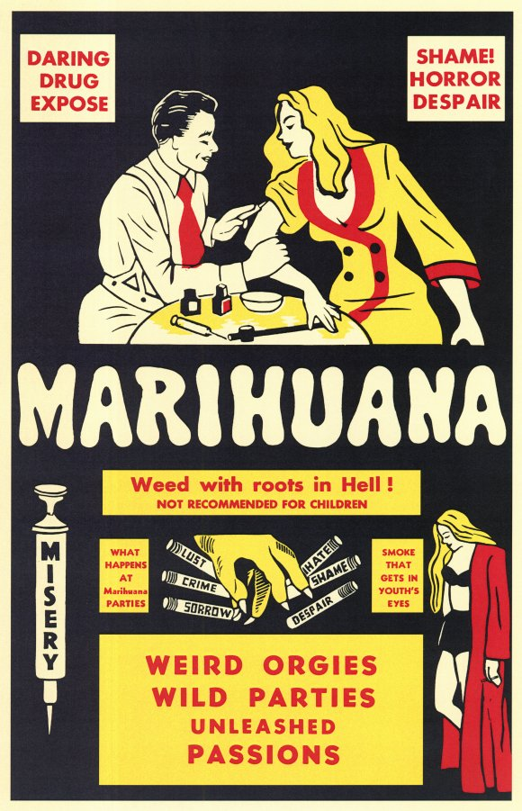 Marihuana Movie Poster from 1930's