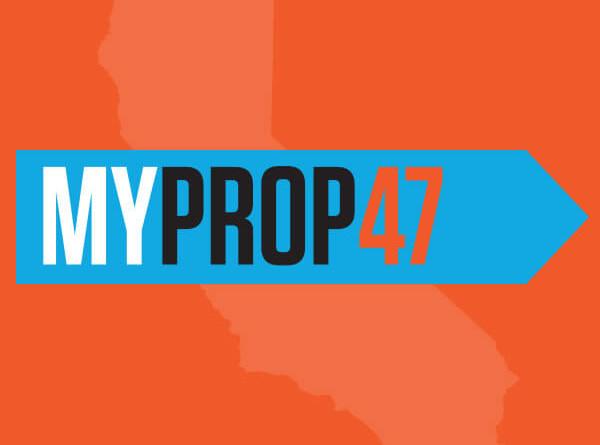 My Prop 47 - California